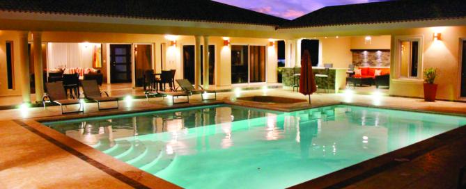 Open concept Caribbean Home