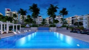Encuentro, beach, ocean, condos, Cabarete