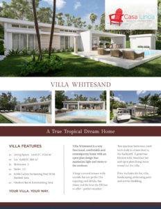 Villa Whitesand Details