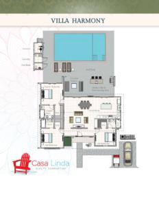 Floor Plans Villa Harmony