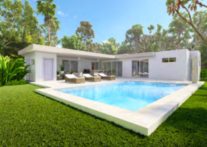 Villa Serenity New Modern Design by Casa Linda