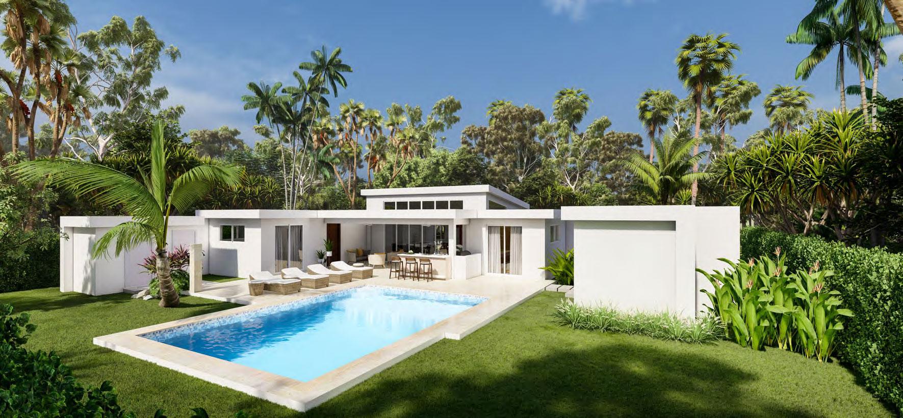 Villa Sunseeker Tropical Home