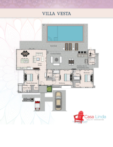 Villa Vesta Floor Plans