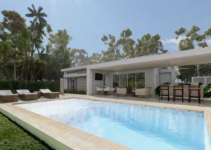 New Contemporary Design Villa Whitesand